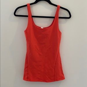 Coral Lulu Workout Top